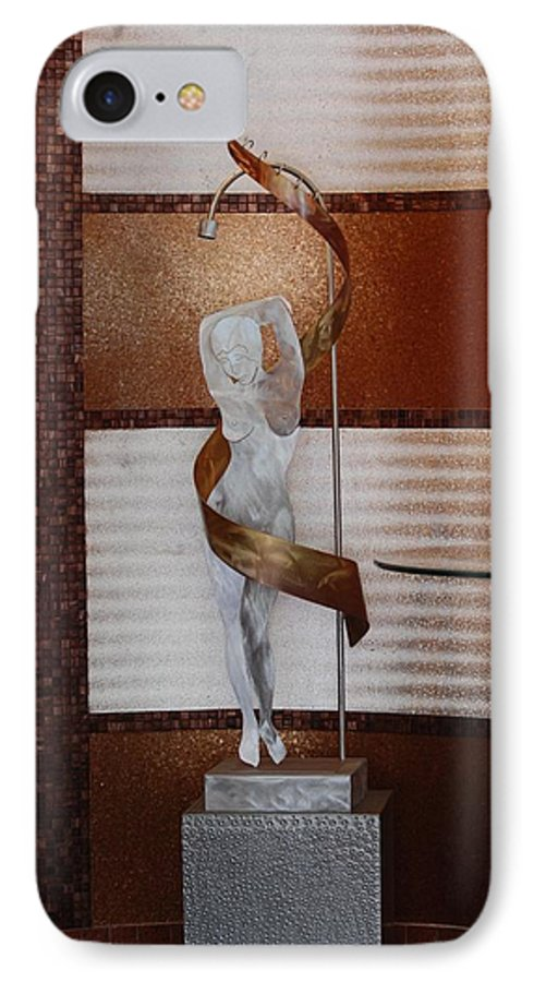 Statue IPhone 7 Case featuring the photograph Erotic Museum Piece by Rob Hans