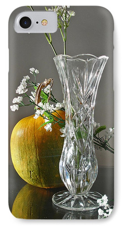 Still Life IPhone 7 Case featuring the photograph Everlasting Harvest by Shelley Jones