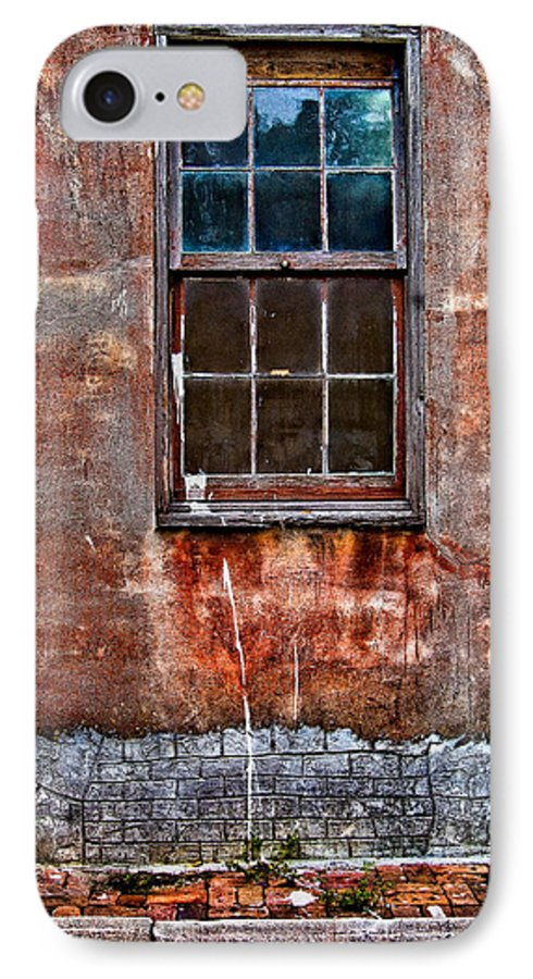 Window IPhone 7 Case featuring the photograph Faded Over Time by Christopher Holmes