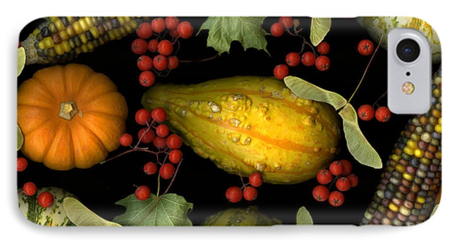 Slanec IPhone 7 Case featuring the photograph Fall Harvest by Christian Slanec