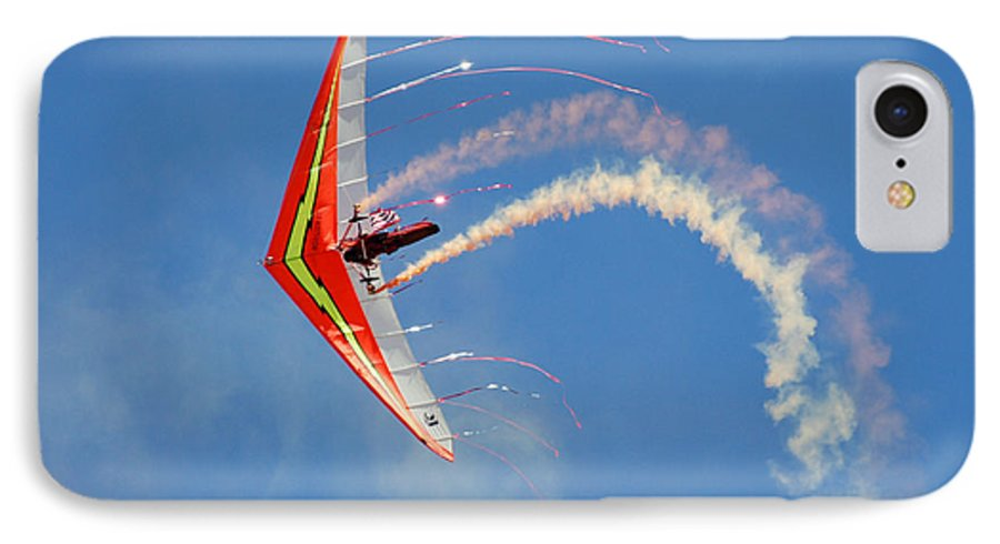 Sky IPhone 7 Case featuring the photograph Fantasy Flight by Larry Keahey