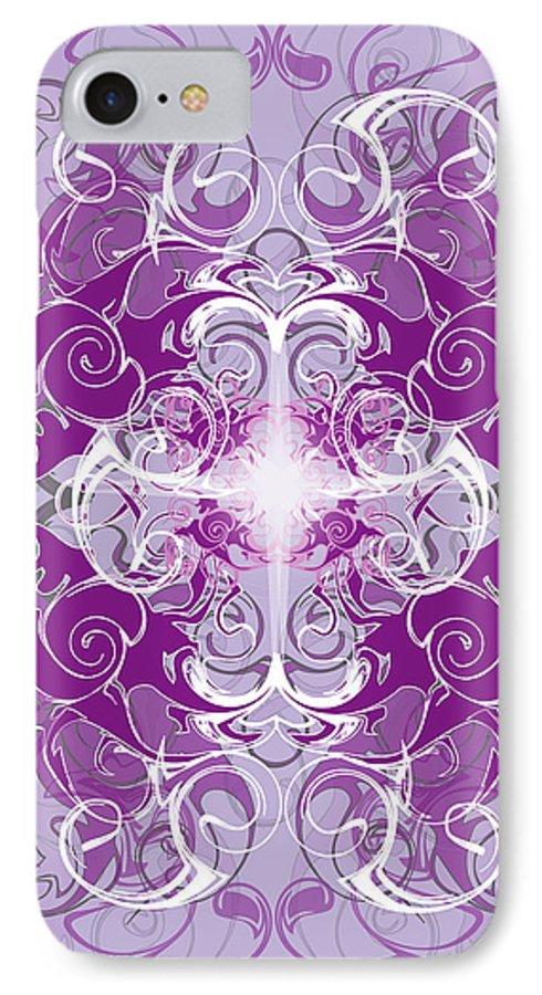 Fantasy IPhone 7 Case featuring the digital art Fantasyvii by George Pasini