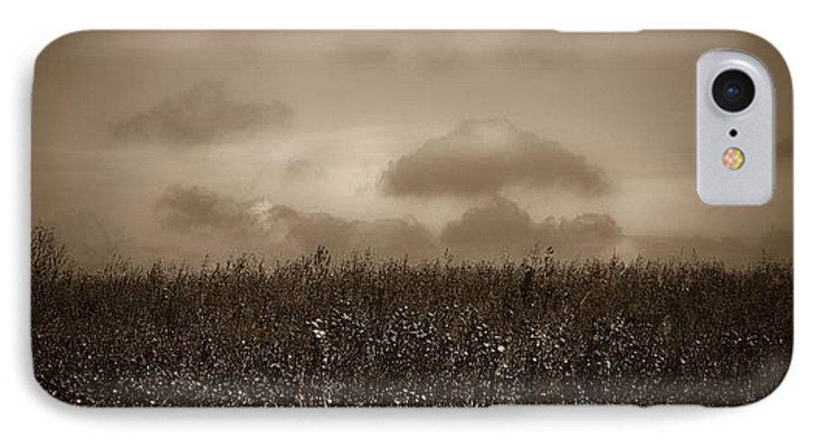 Poland IPhone 7 Case featuring the photograph Field In Sepia Northern Poland by Michael Ziegler