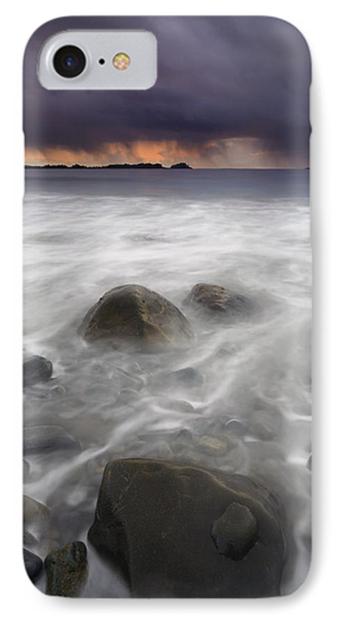 Storm IPhone 7 Case featuring the photograph Fingers Of The Storm by Mike Dawson
