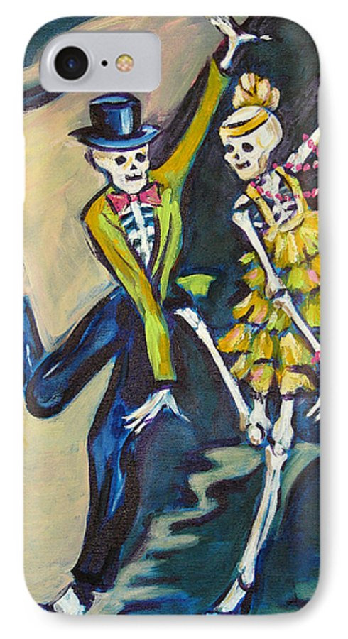 Dance IPhone 7 Case featuring the painting Flappers by Sharon Sieben