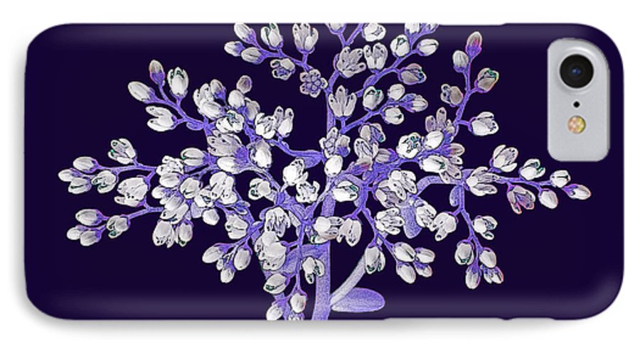 Flower IPhone 7 Case featuring the photograph Flower Tree by Digital Crafts