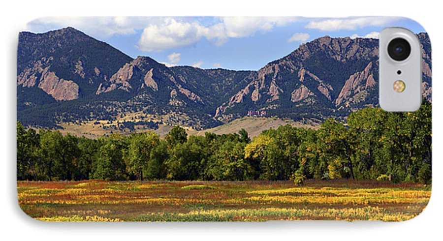 Fall IPhone 7 Case featuring the photograph Foothills Of Colorado by Marilyn Hunt