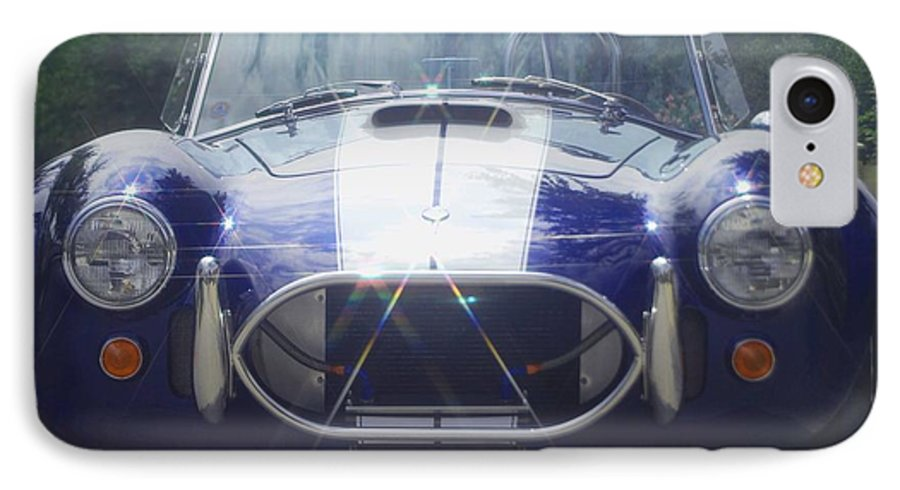 Speed IPhone 7 Case featuring the photograph Ford Cobra by Margaret Fortunato