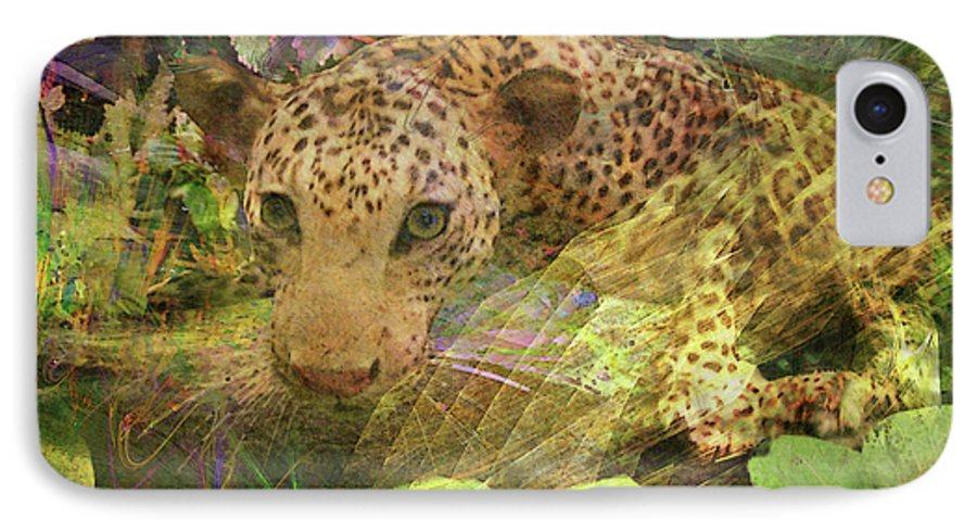 Game Spotting IPhone 7 Case featuring the digital art Game Spotting by John Beck