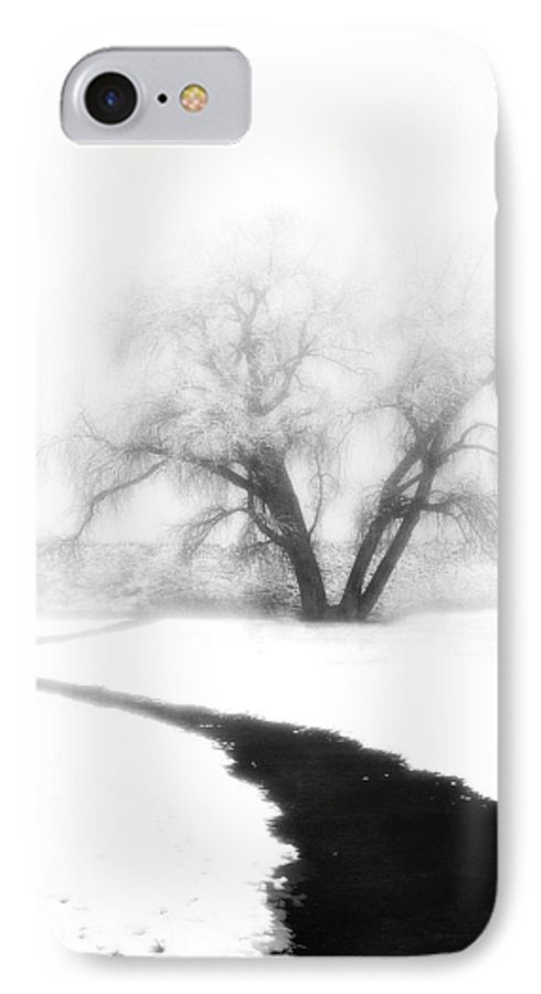 Tree IPhone 7 Case featuring the photograph Getting There by Marilyn Hunt