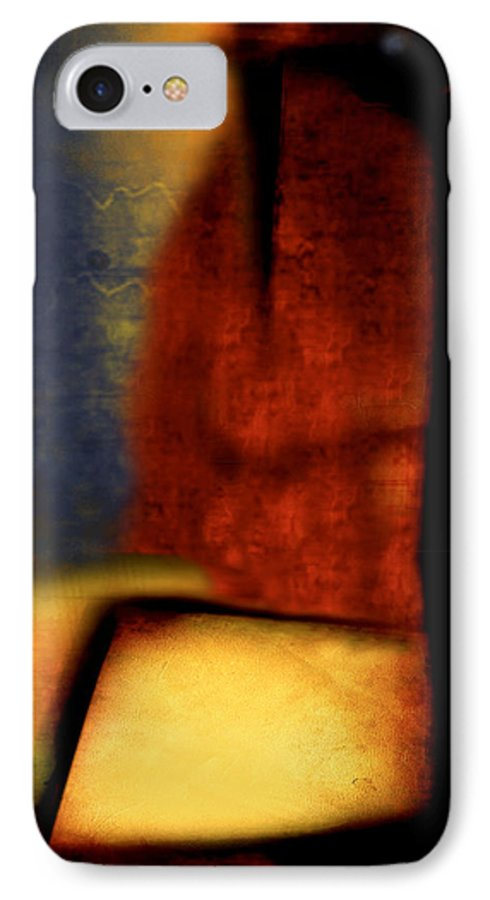 Golf IPhone 7 Case featuring the painting Golf by Jill English
