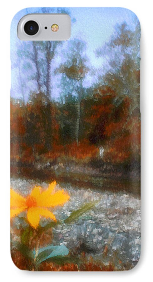 Autumn IPhone 7 Case featuring the photograph Goodbye Summer by Kenneth Krolikowski