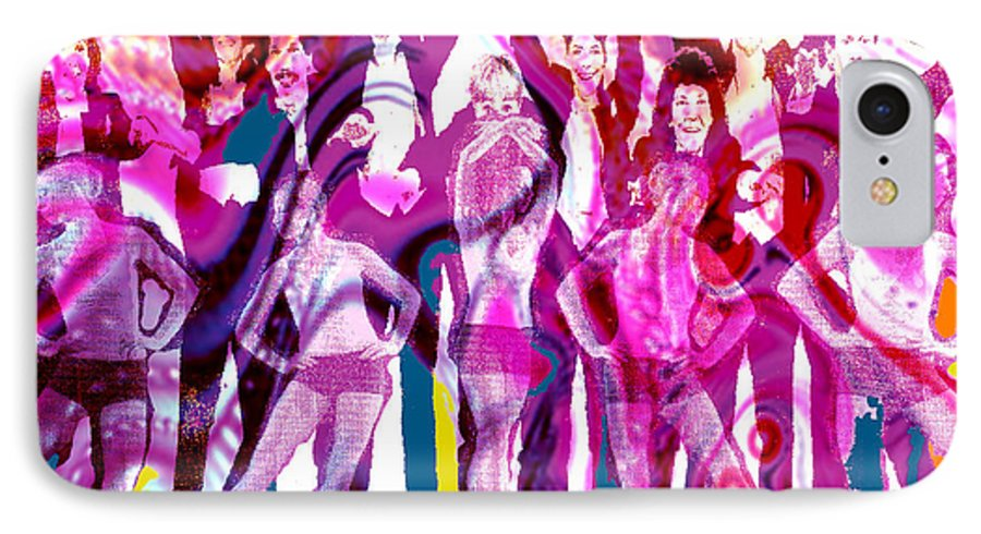 Joy IPhone 7 Case featuring the digital art Got To Dance by Seth Weaver