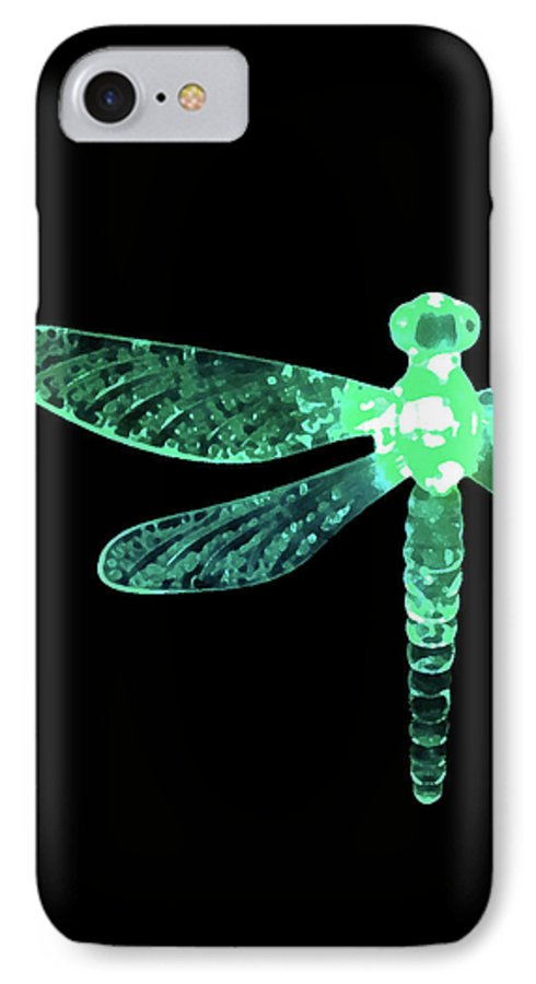 Green Dragonfly IPhone 7 Case