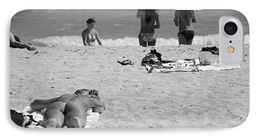 Miami IPhone 7 Case featuring the photograph Half Dead Half Alive by Rob Hans