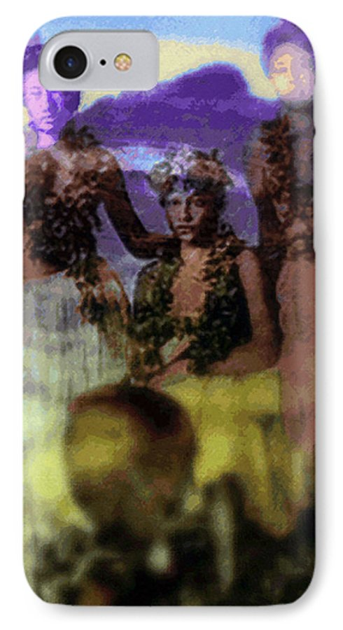 Tropical Interior Design IPhone 7 Case featuring the photograph He Hohona Aeoia by Kenneth Grzesik