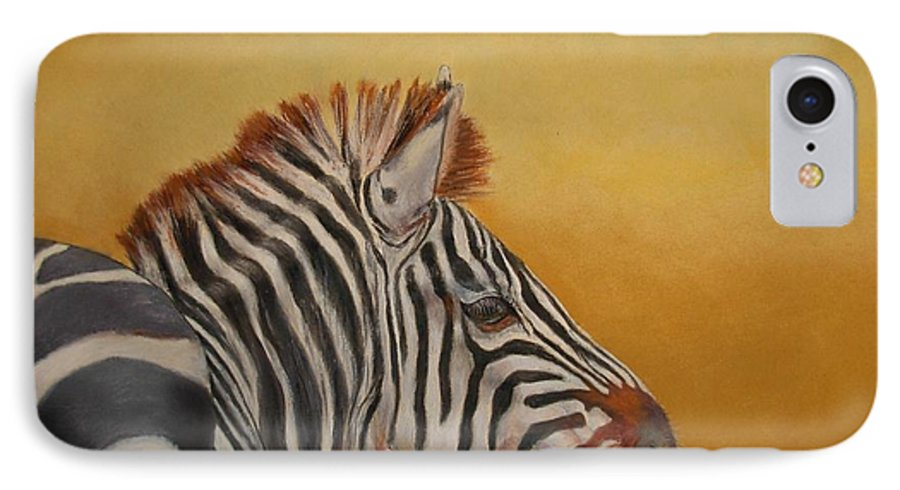 Africa IPhone 7 Case featuring the painting Hello Africa by Ceci Watson