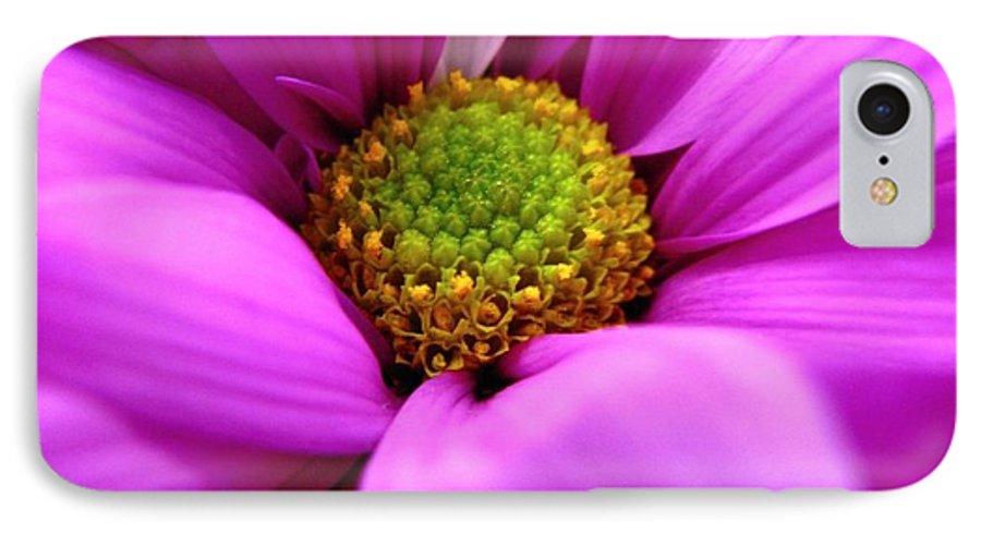 Flower IPhone 7 Case featuring the photograph Hidden Inside by Rhonda Barrett