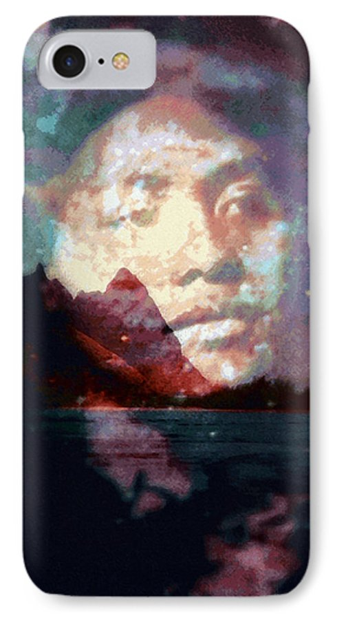 Tropical Interior Design IPhone 7 Case featuring the photograph Ho Okahiko by Kenneth Grzesik