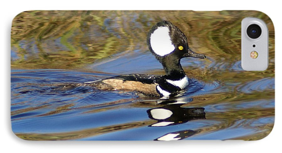Duck IPhone 7 Case featuring the photograph Hooded Mersanger by Debbie May