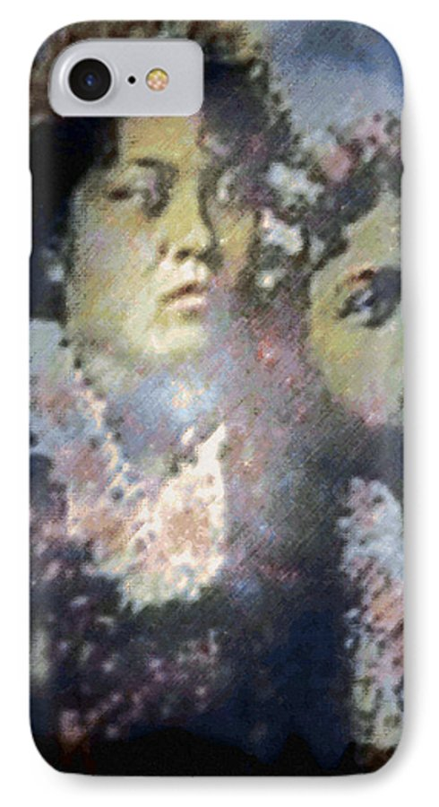 Tropical Interior Design IPhone 7 Case featuring the photograph Hula Kaika Ma Hine by Kenneth Grzesik