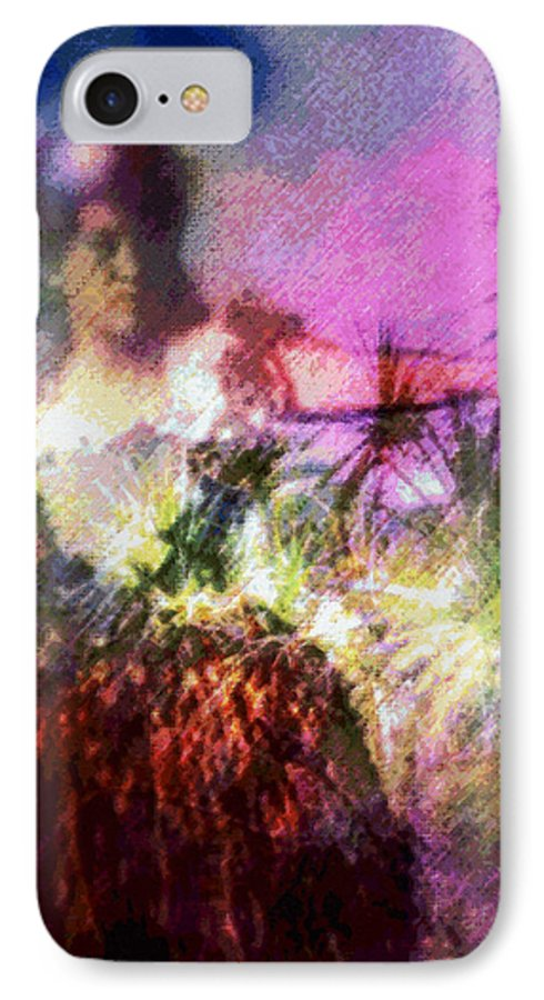 Tropical Interior Design IPhone 7 Case featuring the photograph Hula Mai Oe by Kenneth Grzesik