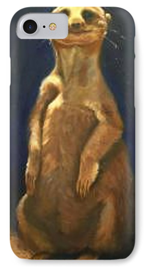 For Availability And Prices Of Limited Edition Prints/giclees IPhone 7 Case featuring the painting I See You by Greg Neal
