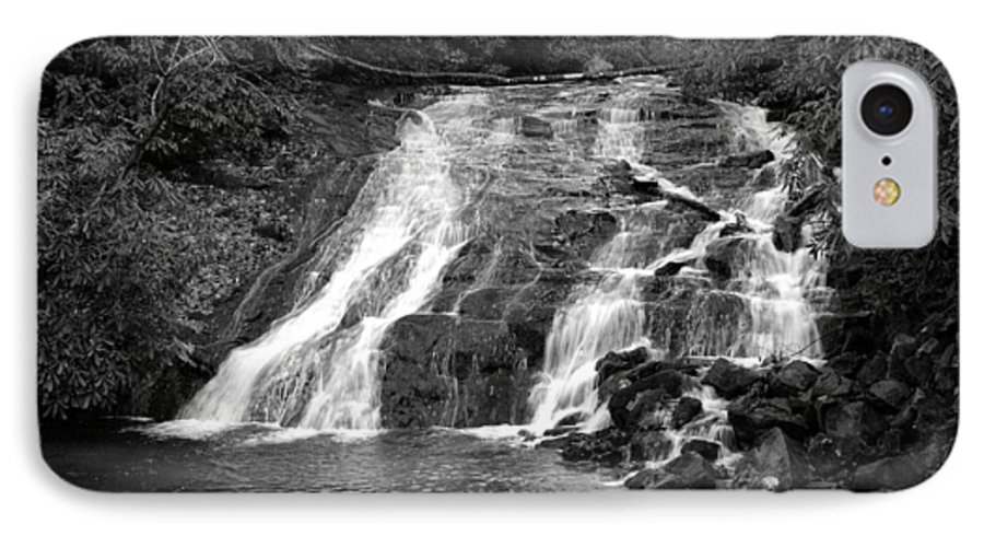 Nature IPhone 7 Case featuring the photograph Indian Falls At Deep Creek by Kathy Schumann