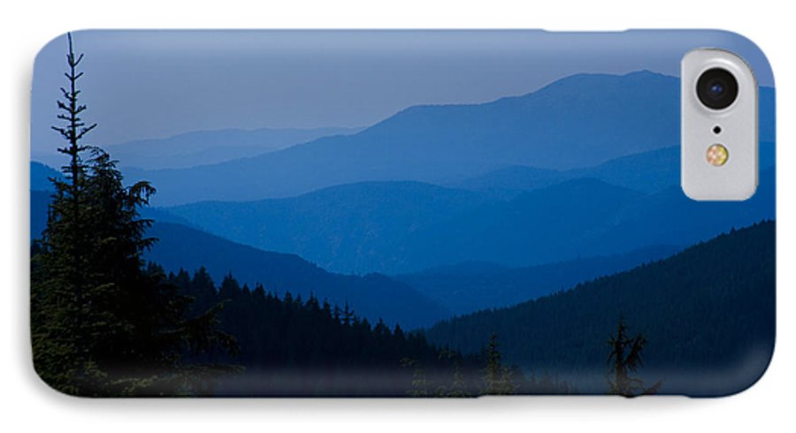 Mountain IPhone 7 Case featuring the photograph Infinity by Idaho Scenic Images Linda Lantzy