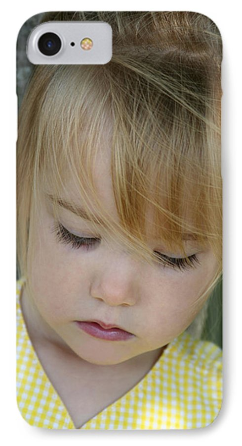 Angelic IPhone 7 Case featuring the photograph Innocence II by Margie Wildblood