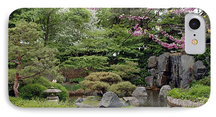 Japanese Garden IPhone 7 Case featuring the photograph Japanese Garden II by Kathy Schumann