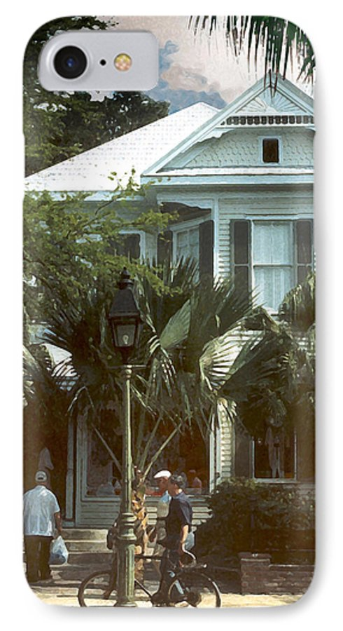Historic IPhone 7 Case featuring the photograph Keywest by Steve Karol