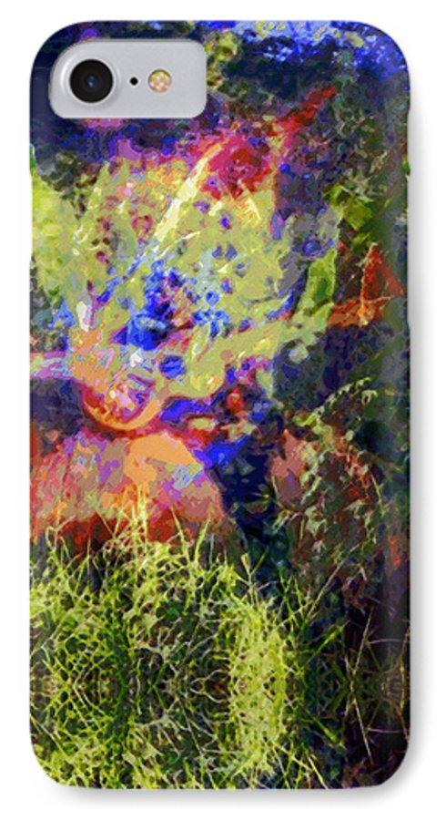 Rainbow Colors Digital IPhone 7 Case featuring the photograph Kihapai O Ekena by Kenneth Grzesik