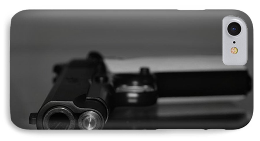 45 Auto IPhone 7 Case featuring the photograph Kimber 45 by Rob Hans