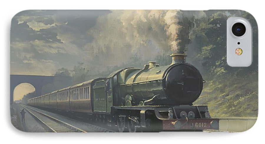 Steam IPhone 7 Case featuring the painting King Edward Vi by Richard Picton