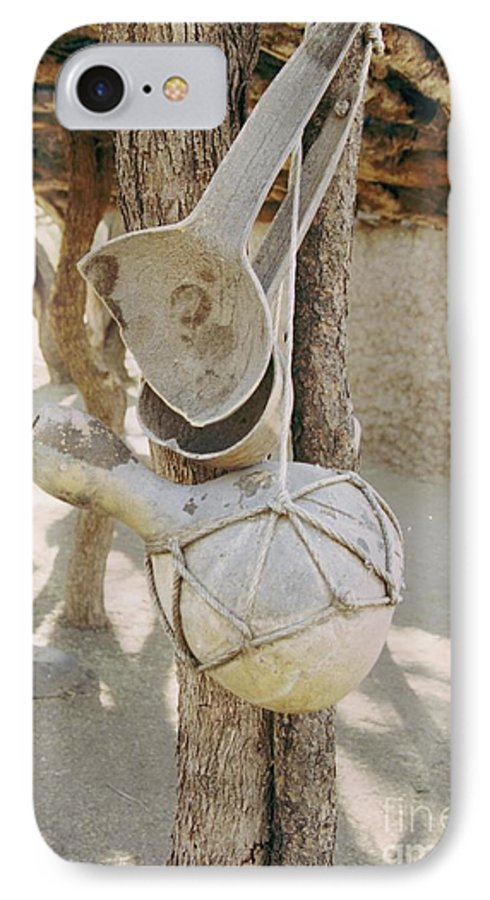 Tumacacori IPhone 7 Case featuring the photograph Kitchen Utensils by Kathy McClure