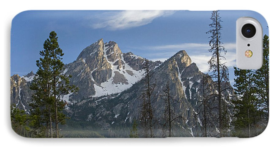Majestic IPhone 7 Case featuring the photograph Last Light On Mcgowan by Idaho Scenic Images Linda Lantzy
