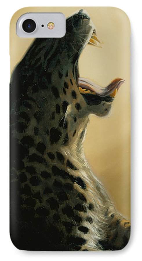 Painting IPhone 7 Case featuring the painting Lazy Days by Greg Neal