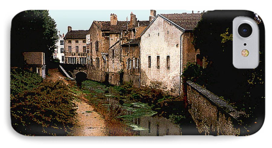France IPhone 7 Case featuring the photograph Loire Valley Village Scene by Nancy Mueller