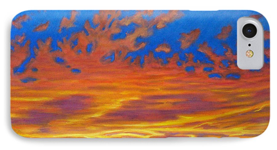 Landscape IPhone 7 Case featuring the painting Looking To The Southwest by Brian Commerford