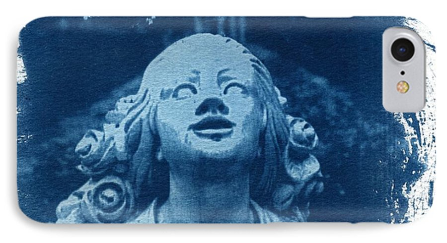 Head IPhone 7 Case featuring the photograph Looking Up by Jane Linders