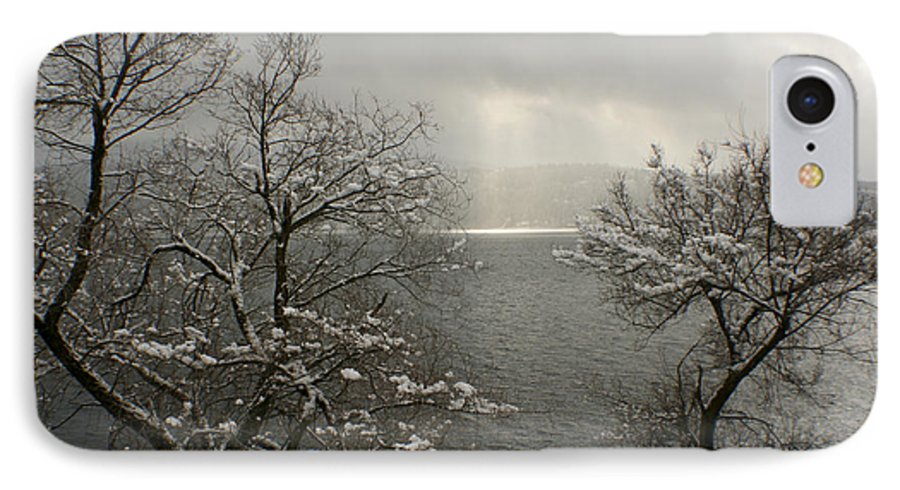 Lake IPhone 7 Case featuring the photograph Luminescence by Idaho Scenic Images Linda Lantzy