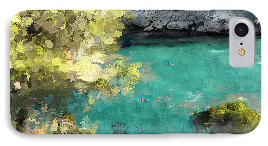 Sea IPhone 7 Case featuring the photograph Macarella by Dee Flouton