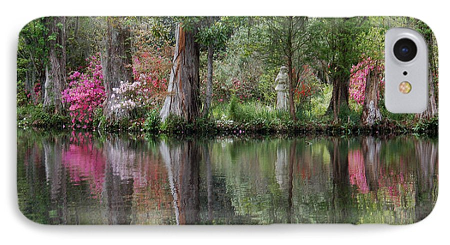 Magnolia Plantation IPhone 7 Case featuring the photograph Magnolia Plantation Gardens Series Iv by Suzanne Gaff