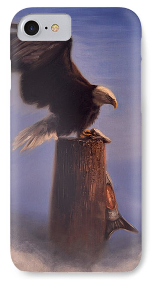Oil IPhone 7 Case featuring the painting Majestic by Greg Neal