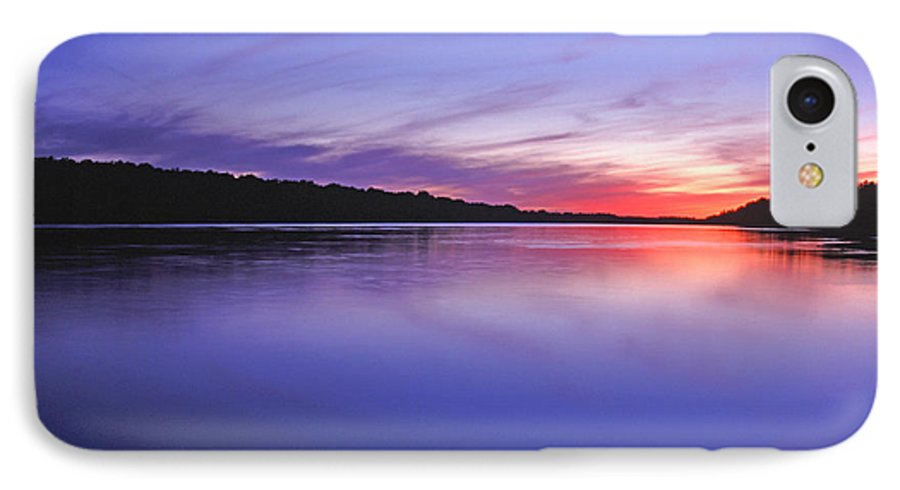 Landscape IPhone 7 Case featuring the photograph Manidooziibi by Bill Morgenstern