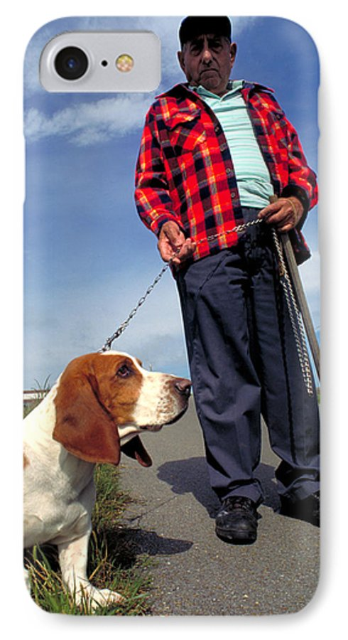 Dog IPhone 7 Case featuring the photograph Man's Best Friend by Carl Purcell