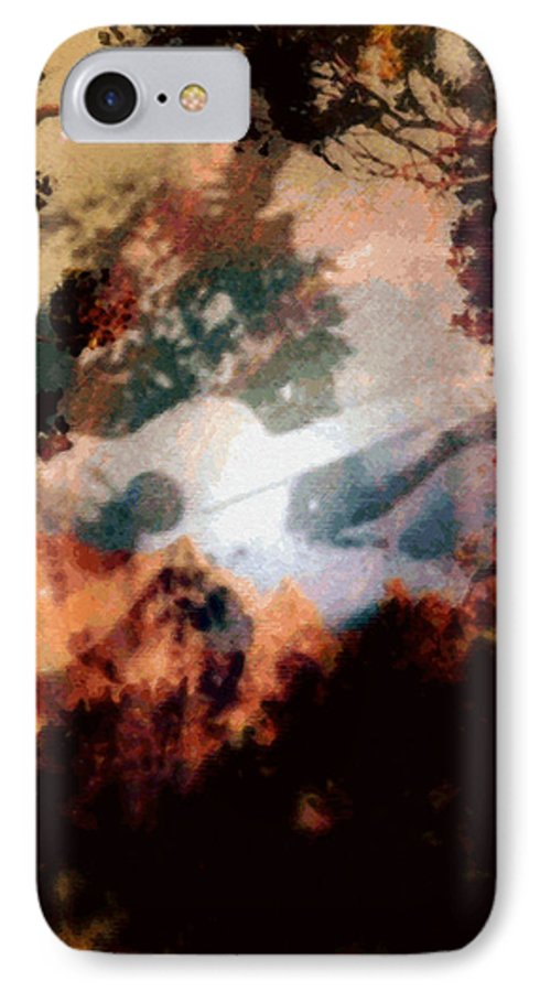 Tropical Interior Design IPhone 7 Case featuring the photograph Mele Ho Oipoipo by Kenneth Grzesik