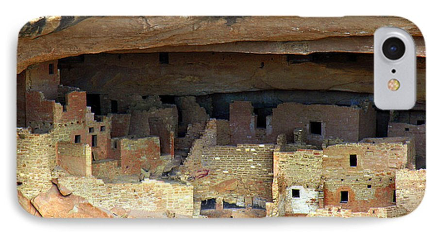 Americana IPhone 7 Case featuring the photograph Mesa Verde by Marilyn Hunt