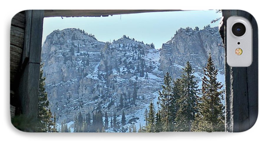 Mountain IPhone 7 Case featuring the photograph Miners Lost View by Michael Cuozzo